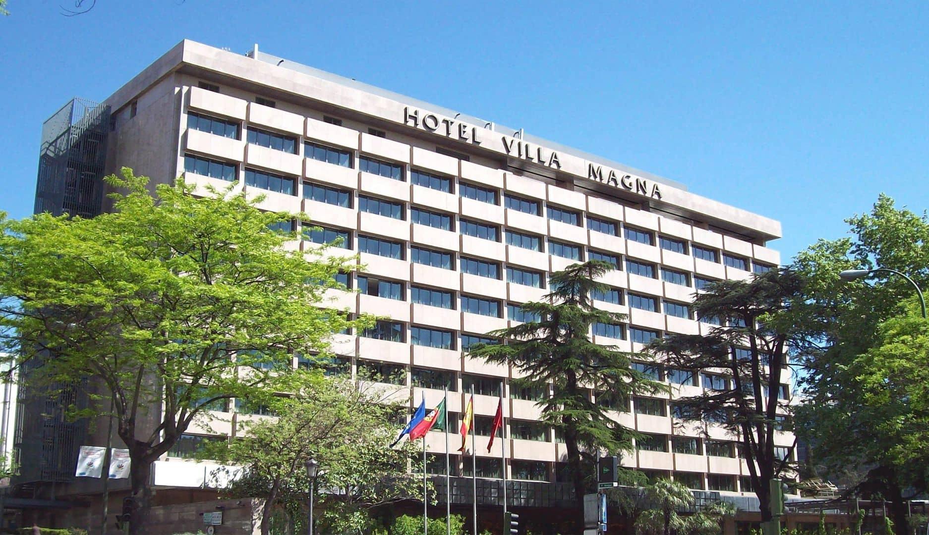 Hotel villamagna fsl ingenieros - Villamagna hotel madrid ...